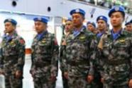 中国首支维和直升机分队荣获联合国
