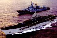 """俄""""新航母""""将为半双体船"""
