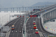 港珠澳大桥开通