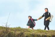 """重慶市南川區的一所""""微小學""""一名鄉村教師的堅守"""