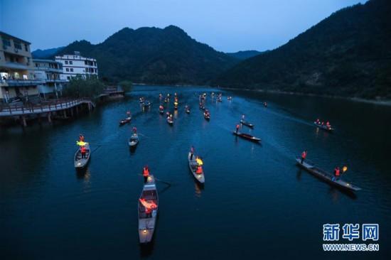 """(美丽中国)(3)""""渔舟唱晚""""助力特色乡村旅游"""