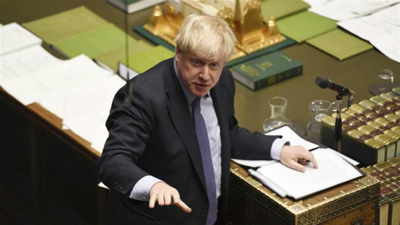 """英议会否决约翰逊""""脱欧""""协议立法时间表"""