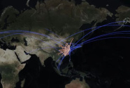 卫星发现一个信号:中国航线正在忙起来