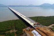 广东海陵岛特大桥全线桥面铺装完成