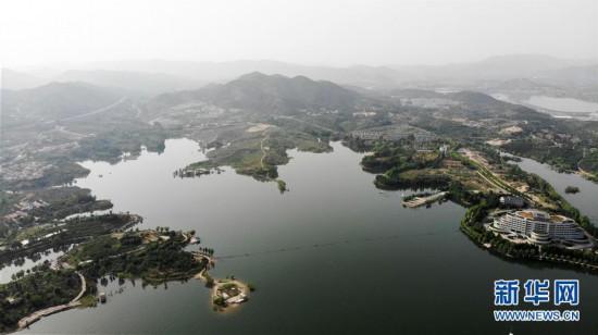 """(美丽中国)(3)雪野湖畔""""瞰""""山水"""