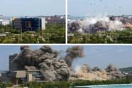 联络大楼被爆破 半岛局势陷对峙