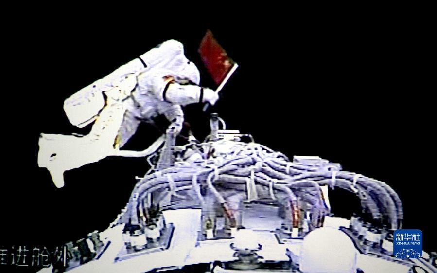 (奮斗百年路 啟航新征程·中國共產黨人的精神譜系·圖文互動)(4)我們的征途是星辰大?!d人航天精神述評