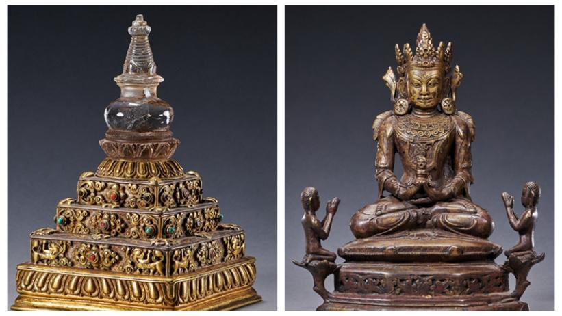国家文物局将从美国追索的12件文物艺术品整体划拨西藏博物馆